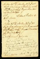 [Receipt for wages paid to John Roberts, William Johnson, and Arch. McCarthy]