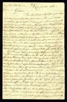 [Letter from Cornels. Durant to Messrs. Saml. & Wm. Vernon]
