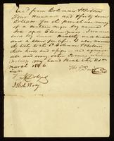 Bill of Sale between Thomas Davis and Coleman Bolton