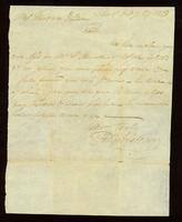 [Letter from Phillips & Gardner to Mess. Gardner & Dean]