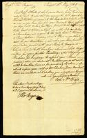 [Letter from Sam. & Wm. Vernon to Capt. Thos. Rogers]