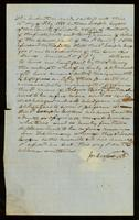 Deed of Emancipation of Berry Rucker by Joseph Cooper