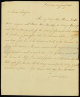 [Letter from Edward Dickens to Mr. Samuel Sandford]