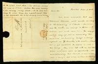 [Letter from P.C. Brooks to Mr. William H. Vernon]