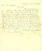 [Letter to Francis Jackson]