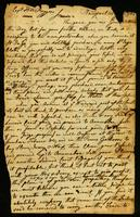 [Letter from S. W. V. to Capt. Thos. Roggers]