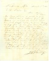 [Letter from J. E. Prestridge to E. H. Stokes]