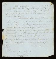 [Bill of Sale of between Charles Alexander and David Sayer]