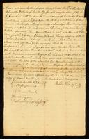 Bill of Sale between Reuben Pain and William Buford