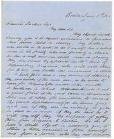 [Letter from Arthur G. Homer to Francis Jackson]