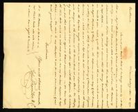 [Letter from John Thornton & Co. to Messrs. Saml. & William Vernon]