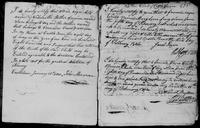 Town Book for Castletown For the Entry of Black Children, 1799-1827, pages 2 and 7