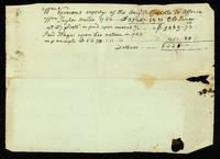 [Receipt for wages and supplies for the Brig Royal Charlotte]