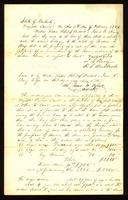 [Commissioner's Report on the Property of Mordecai C. Hays]
