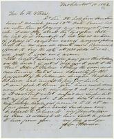 [Letter from John A. Winston to E. H. Stokes]