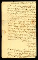 [Letter from Thos. T. Taylor to Messrs. Vernon and Readwoods]