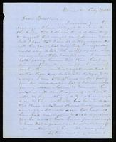 [Letter from Lysander Spooner to Daniel McFarland]