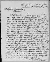 [Letter from W. Goodell to Lysander Spooner]