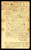 [Manuscript copy of letter from Thos. T. Taylor to Messrs. Vernon and Readwoods]