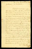 [Letter from John Duncan to Messrs. Saml. & Wm. Vernon]