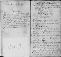 New-York Manumission Society records, 1785-1849. Volume 1, Minutes of the Committee of Ways and Means, 1810-1838
