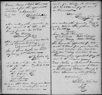 Volume 1, Minutes of the Committee of Ways and Means, page 13-14, January 8 (continued), January 26, January 28 and February 23, 1811