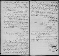 Volume 1, Minutes of the Committee of Ways and Means, page 57-58, April 5, July 9 and October 3, 1816