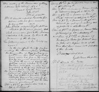 Volume 1, Minutes of the Committee of Ways and Means, page 73-74, January 11 and March 13, 1820