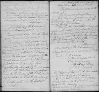 Volume 1, Minutes of the Committee of Ways and Means, page 79-80, September 22 and [?] 10, 1820, and January 9 and March 12, 1821
