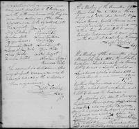 Volume 1, Minutes of the Committee of Ways and Means, page 83-84, March 12, July 5 and July 8, 1822