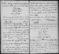 Volume 1, Minutes of the Committee of Ways and Means, page 103-104, November 13, 1826, and January 8, 1827