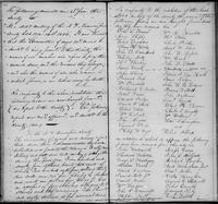 Volume 1, Minutes of the Committee of Ways and Means, page 105-106, January 8, 1827 (continued) including a report of members in arrears