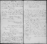 Volume 1, Minutes of the Committee of Ways and Means, page 143-144, April 9, 1833 (continued), January 14, 1834 and January [?], 1835