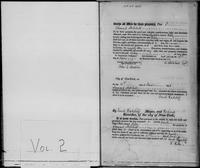 New-York Manumission Society records, 1785-1849. Volume 2, Register of Manumissions of Slaves in New York City, June 18, 1816-May 28, 1818