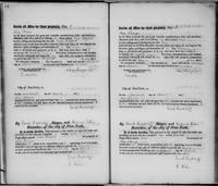 Volume 2, Register of Manumissions of Slaves in New York City, June 18, 1816-May 28, 1818, page 54-55