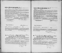 Volume 2, Register of Manumissions of Slaves in New York City, June 18, 1816-May 28, 1818, page 100-101