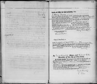 Volume 2, Register of Manumissions of Slaves in New York City, June 18, 1816-May 28, 1818, [blank verso of inserted page 103] and page 103