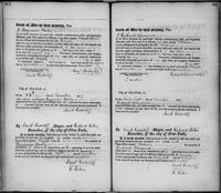 Volume 2, Register of Manumissions of Slaves in New York City, June 18, 1816-May 28, 1818, page 108-109