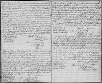 Volume 3, Indentures, 1809-1829. Register of manumissions and indentures, page 6-7