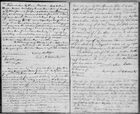 Volume 3, Indentures, 1809-1829. Register of manumissions and indentures, page 52-53