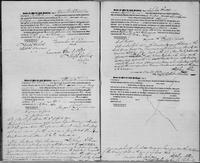 Register of manumissions of slaves, unnumbered page.