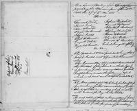 Volume 5, Minutes of meetings, records, and reports of committees. Manumission Society special meeting, 27 of 4 mo. 1818, page [1]