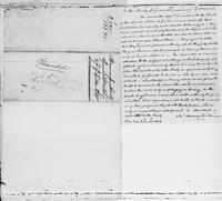 Volume 5, Minutes of meetings, records, and reports of committees. Manumission Society special meeting, 27 of 4 mo. 1818, page [4], docket, and Report of committee for procuring further accommodations for the School, 4 mo: 27. 1818. No. 1, page [1]