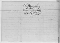Volume 5, Minutes of meetings, records, and reports of committees. John Murray Jun. To the Manumission Society, 4 mo. 27 1818, page [2], docket