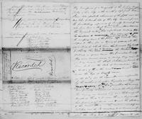 Volume 5, Minutes of meetings, records, and reports of committees. Stated Meeting of the Manumission Society 11 mo 10. 1818, page [4], and [undated report], page [1]