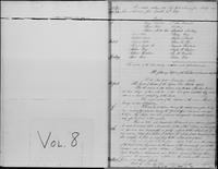 New-York Manumission Society records, 1785-1849. Volume 8, Minutes of the Manumission Society of New-York, January 13, 1829-April 12, 1849