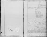 New-York Manumission Society records, 1785-1849. Volume 10, Minutes of the Standing Committee, March 11, 1807-July 8, 1817