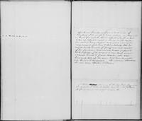 Volume 11, Minutes of the Standing Committee, page [269]-[270], note concerning Abraham Smith, a free man of Flushing, Long Island, captured while on a trip to New Orleans, undated, recto, and notice of meeting of the New-York Manumission Society, January