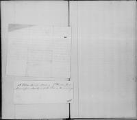Volume 11, Minutes of the Standing Committee, page [269]-[270], note concerning Abraham Smith, a free man of Flushing, Long Island, captured while on a trip to New Orleans, undated, blank verso, and notice of meeting of the New-York Manumission Society, J
