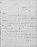 Volume 11, Minutes of the Standing Committee, page [277]-[278], copy of John A. Collier letter to William H. Seward, February 3, 1841, page [1]